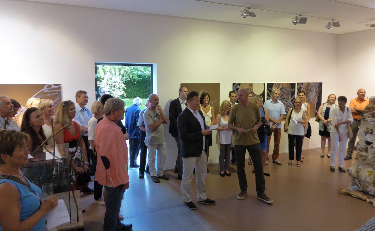 Kulturmanager Mag. Peter Weinhaeupl, Direktor des Leopold Museums in Wien, sprach zur Eröffnung die Laudatio.