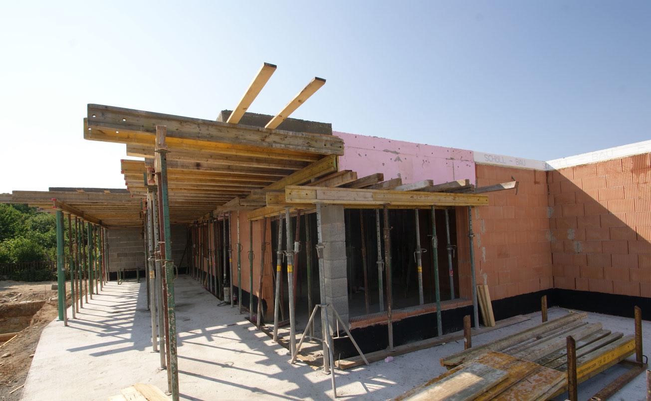 1. Rohbauphase Baubeginn Sommer 2015