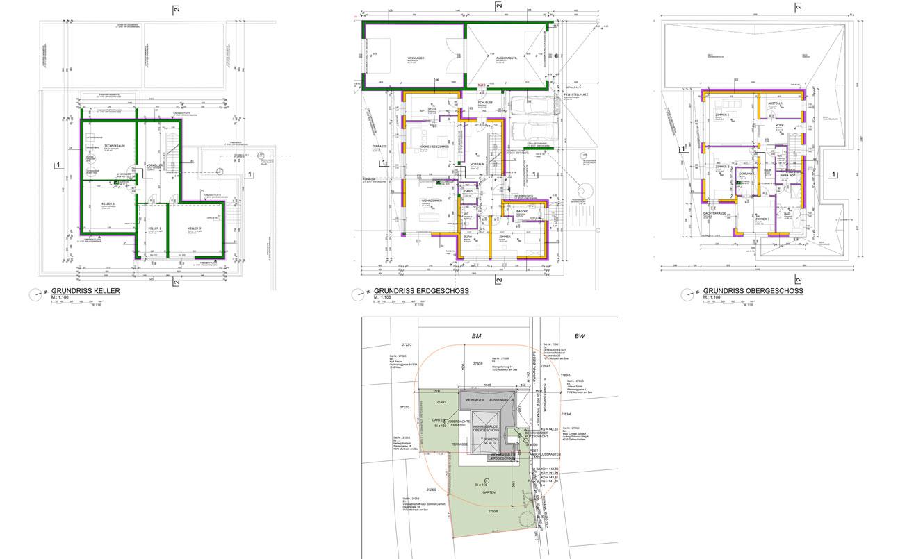 Technische Planung in Zusammenarbeit mit Archt. DI Paul Janak, Wiener Neustadt.