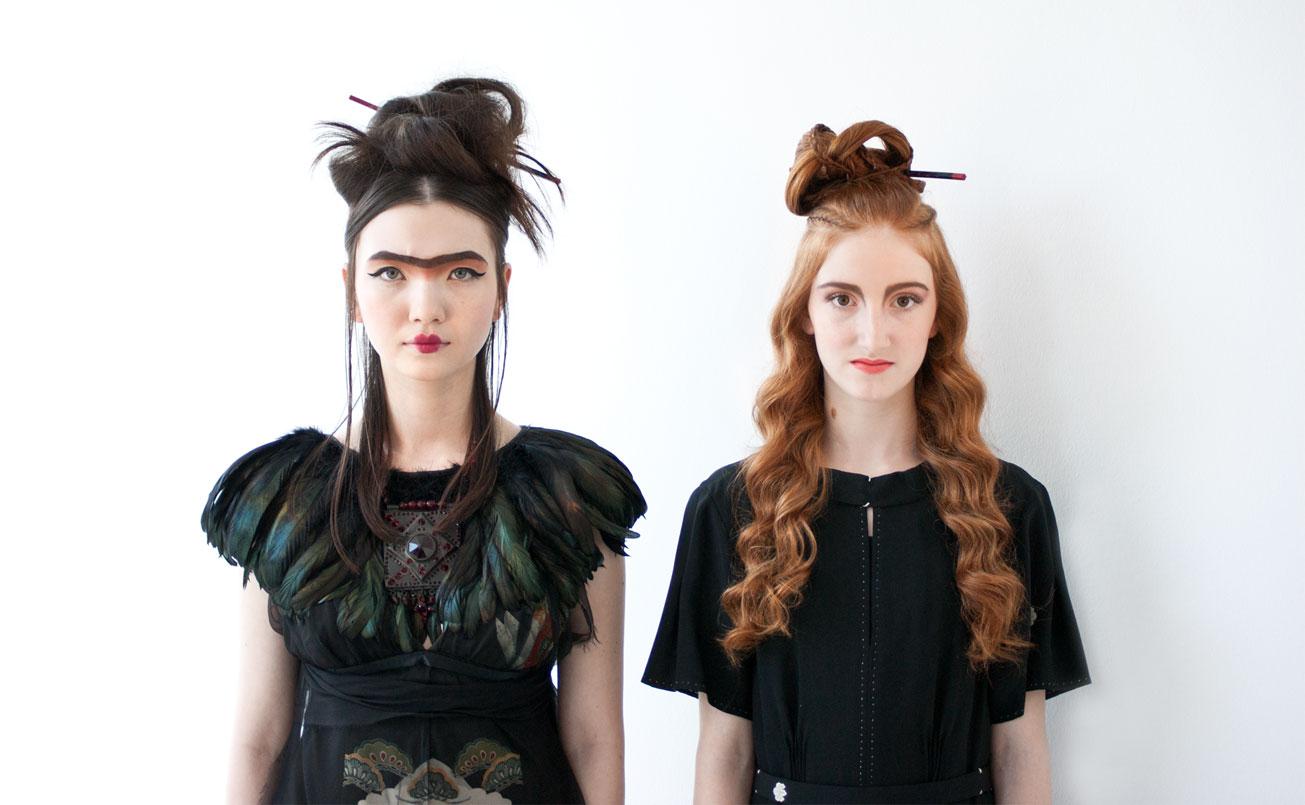 """SHU UEMURA """" ART OF HAIR """" Fotoshooting Kronlachner und Hannes Rohringer für Japan."""
