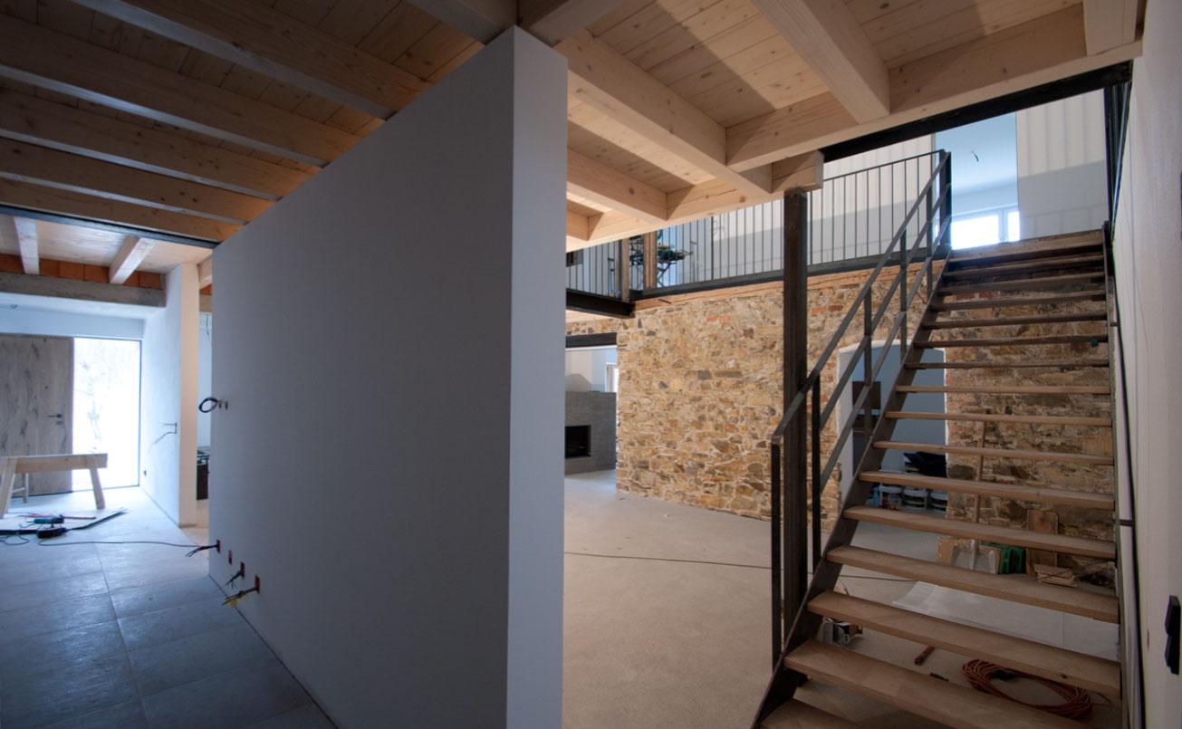 Foyer, Diele und Aufgangsbereich.