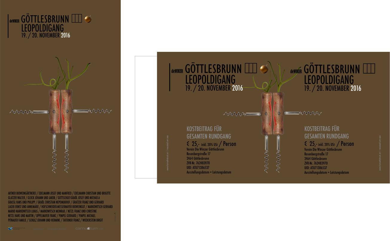 Plakat 63 / 32 cm, Eintrittskarten.