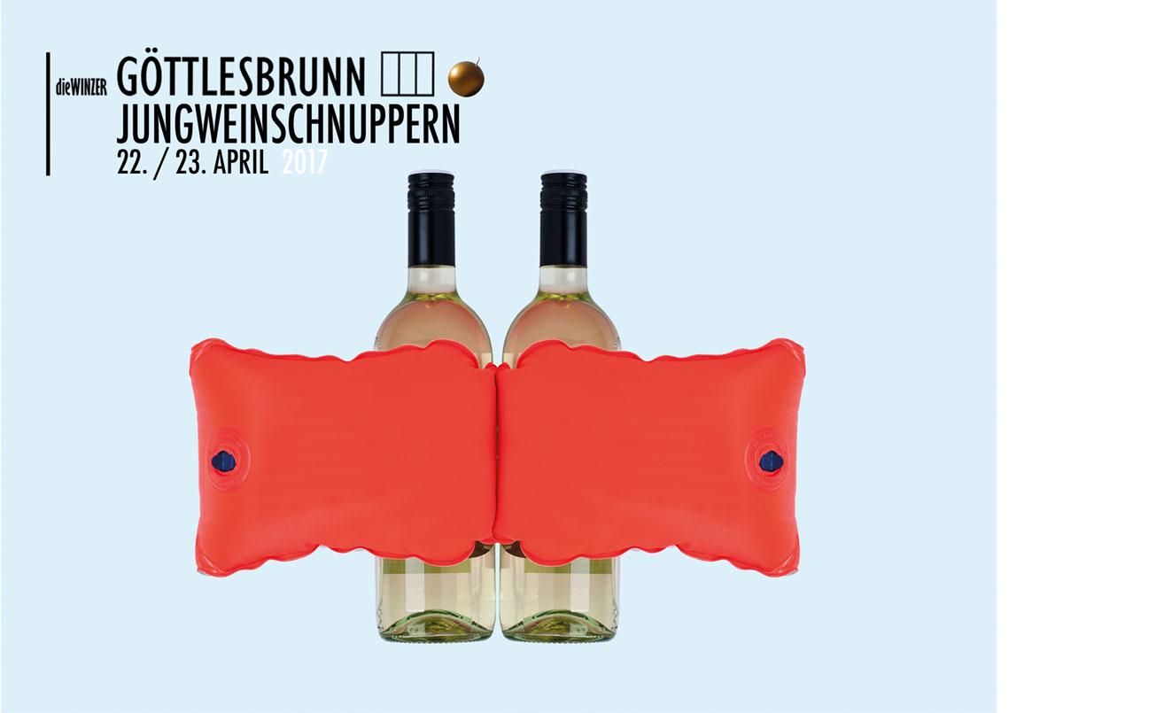 Jungweinschnuppern, Einladungskarte A5