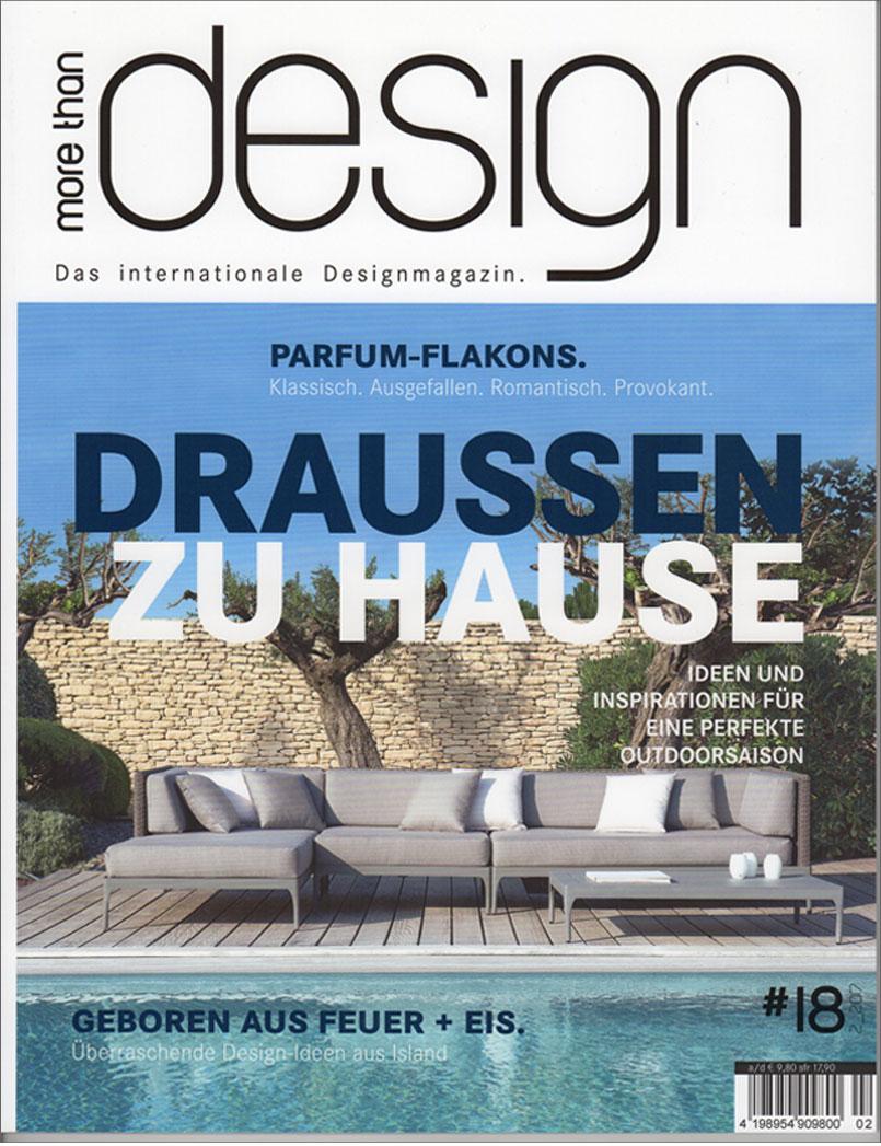 more than design, Ausgabe