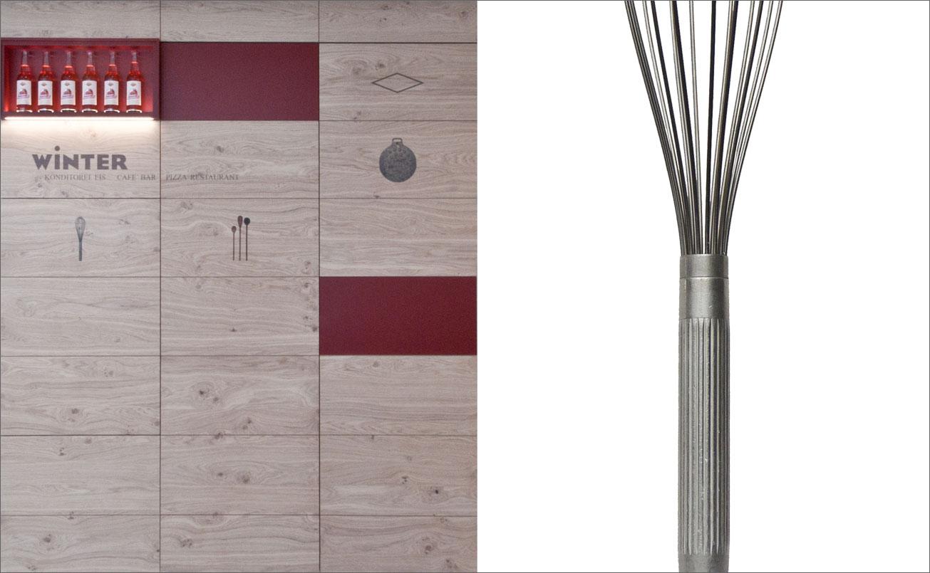 Wandgestaltung, Tradition und Moderne, Handwerk und Materialqualität