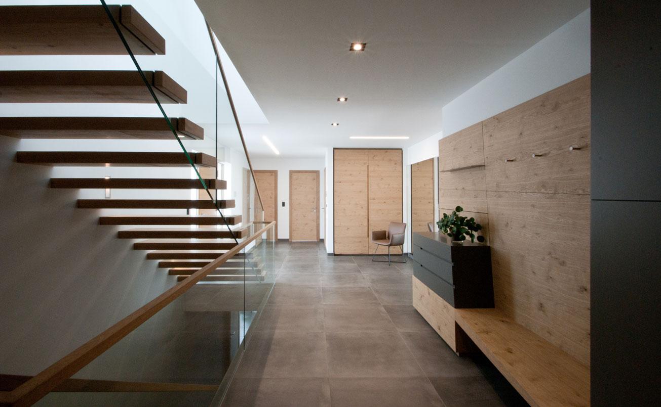 Foyer mit Garderobebereich