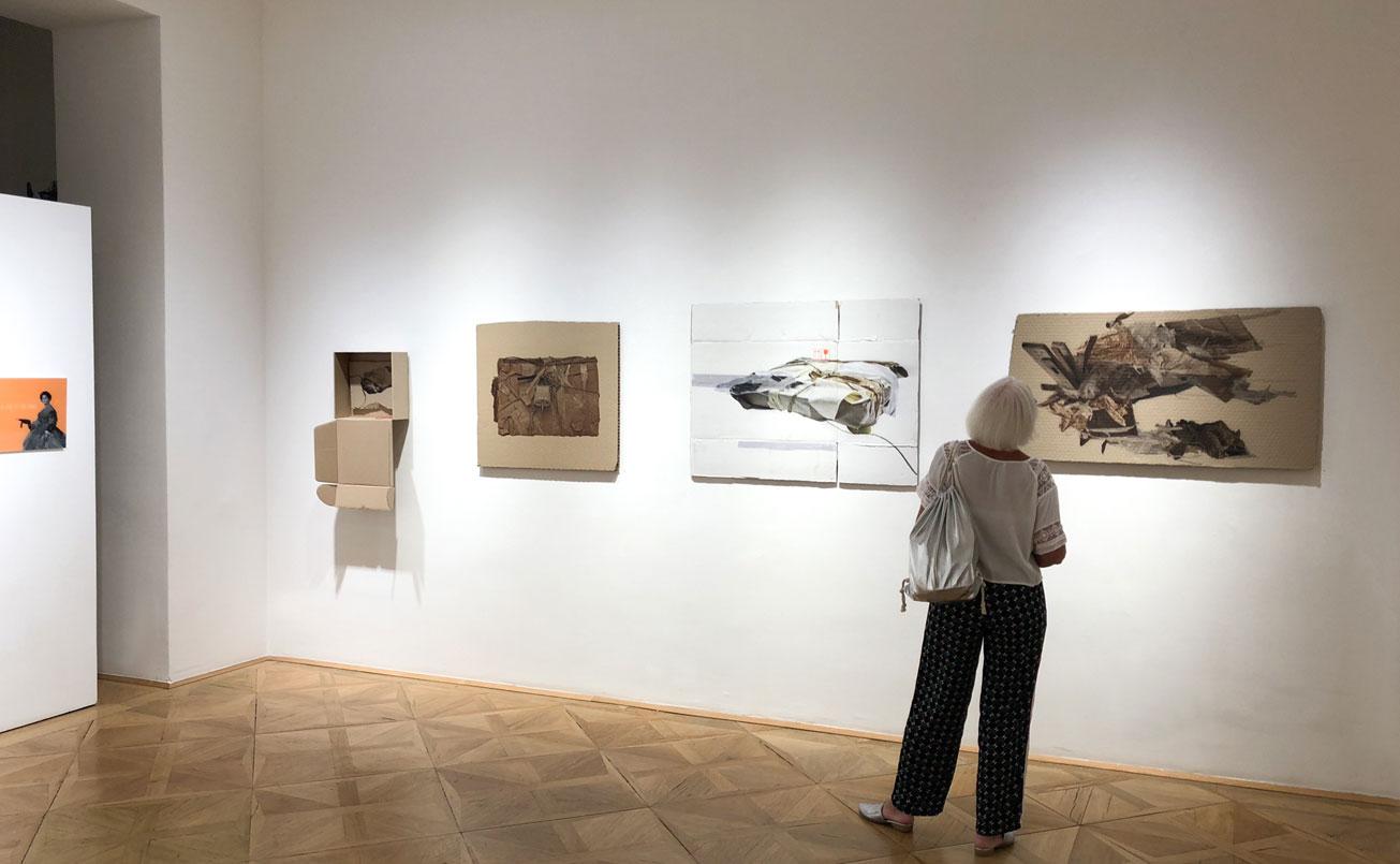 Ausstellungseröffnung in der five plus art gallery