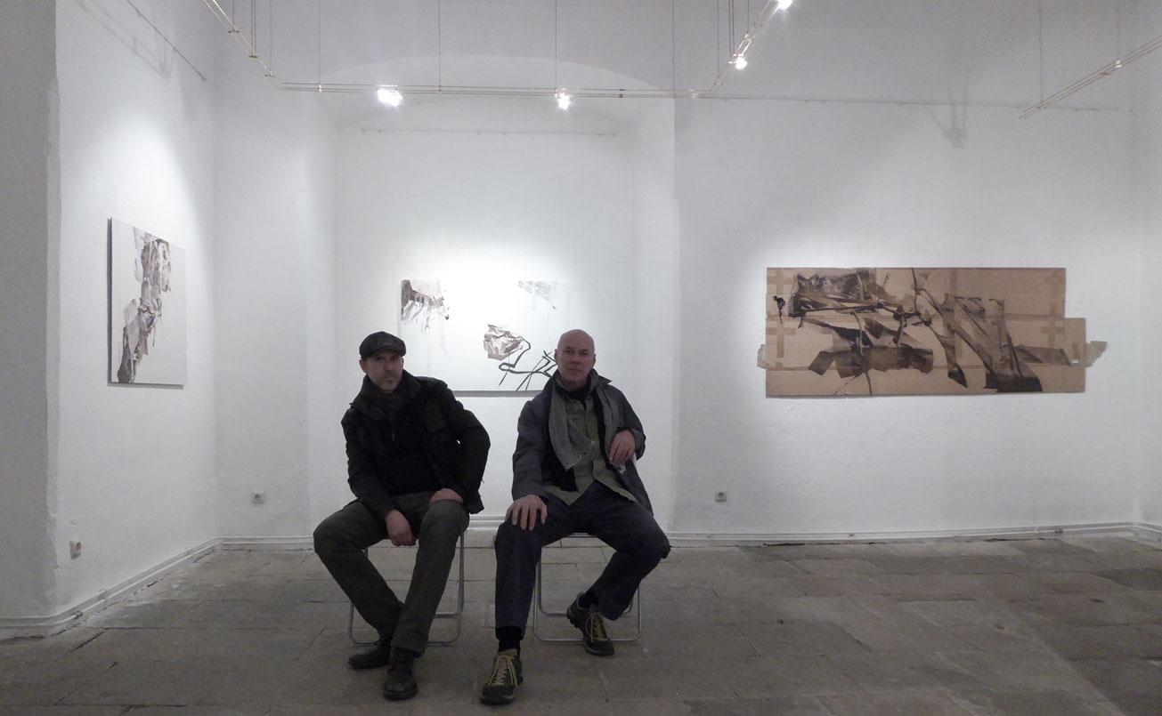 Christian Flora-Hannes Rohringer, Ausstellungsraum 1.OG