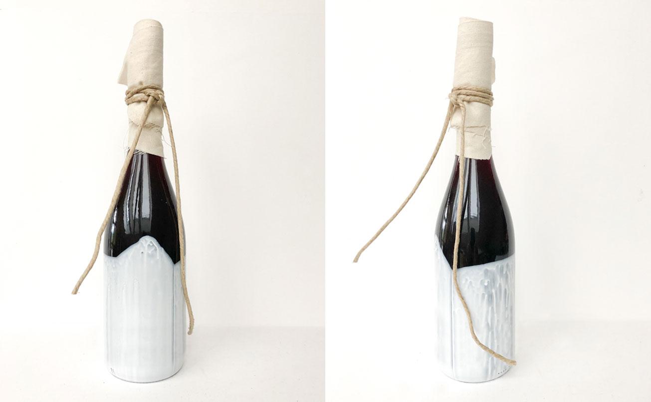 Abwicklung Flasche WERMUT Artemisia, Wiederstein