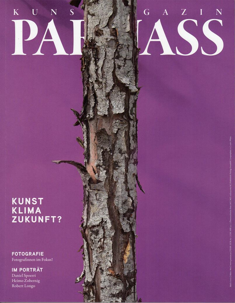 Parnass_Kunstmagazin, Titielseite, 01/2021
